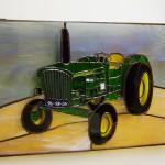 Raamhanger oude tractor