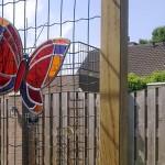Tuinhanger vlinder rood