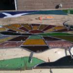 Restauratie gesneuveld raam