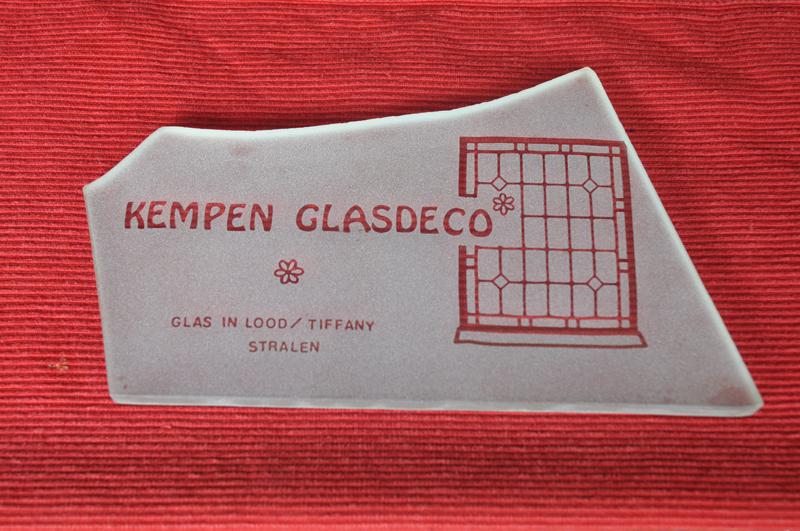 Kempen Glasdeco, voor Zandstralen, Tiffany en Glas in Lood